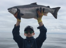 Salmon Fishing Charters in Whittier Alaska
