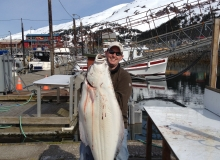 Halibut Fishing in Whittier Alaska