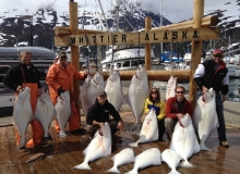 Halibut Charters Whittier Alaska