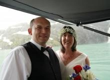 Wedding in Prince William Sound