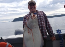 Halibut Fishing in Prince William Sound