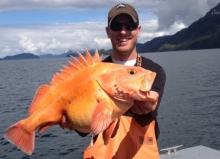 Yellow Eye Fishing in Whittier Alaska