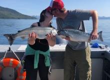 Salmon Charters in Whittier Alaska