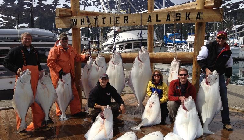 Whittier alaska fishing charters anchorage halibut for Anchorage fishing charters