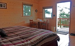 Prince William Sound Rental Cabins Room with view
